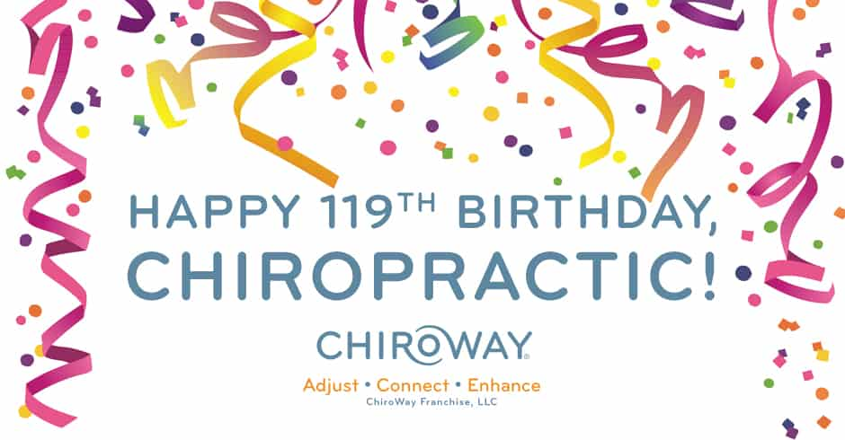 happy birthday, chiropractic