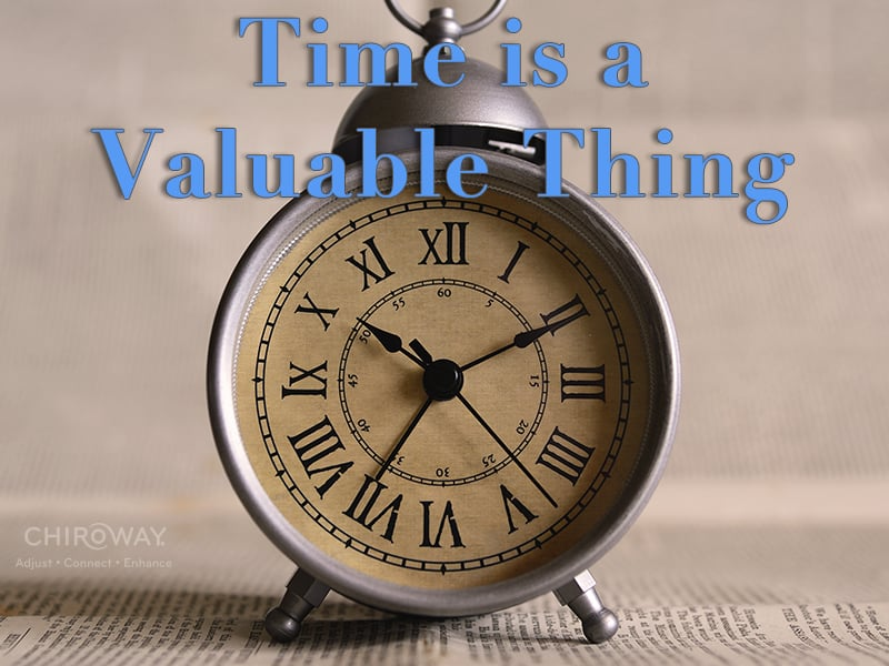Time is a Valuable ...