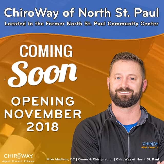 ChiroWay of North St. Paul Coming Soon
