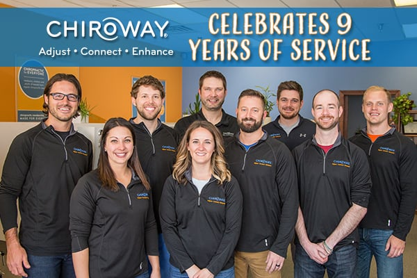 ChiroWay Celebrates 9 Years of Service, photo of ChiroWay franchisees