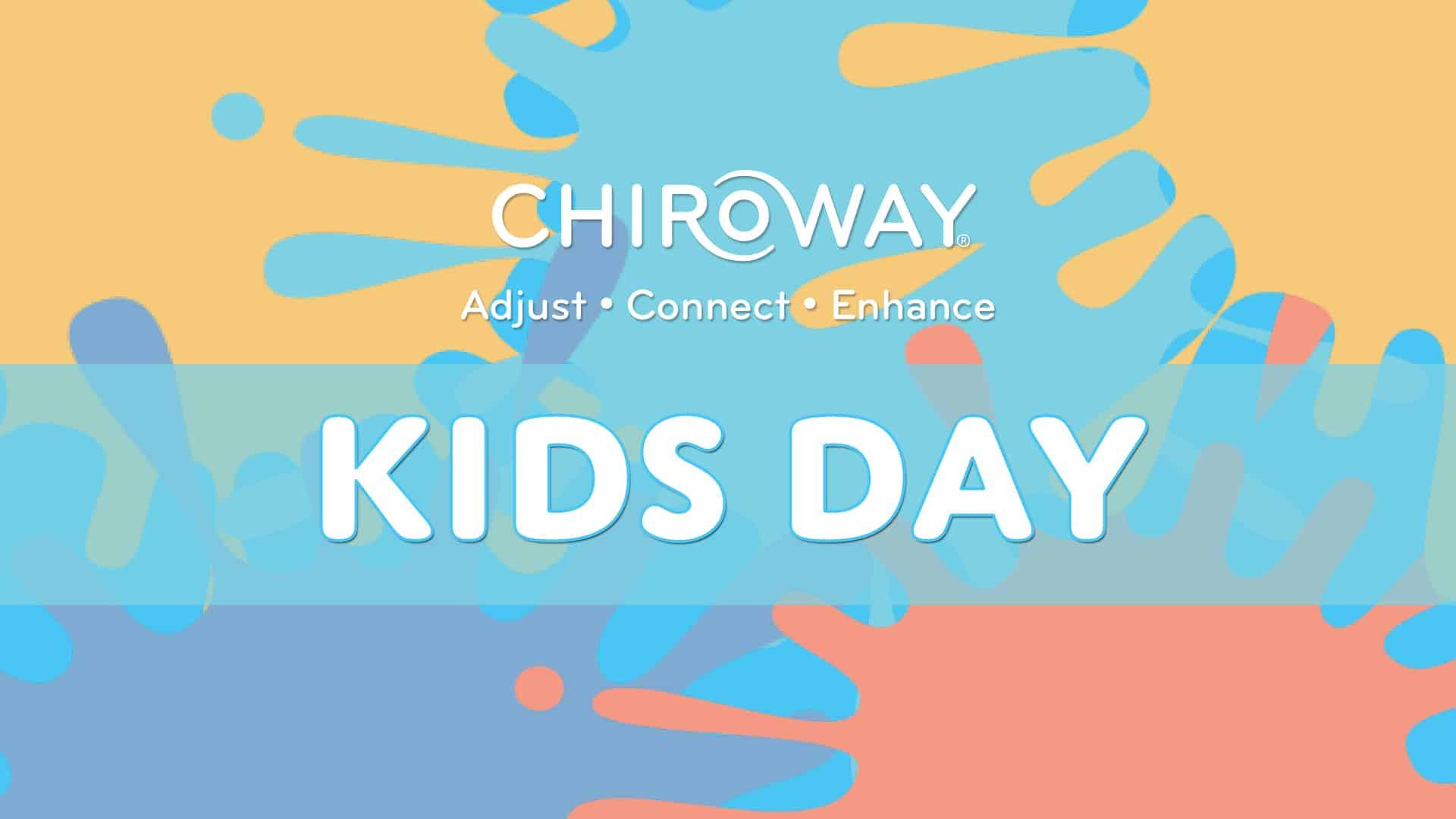 ChiroWay Kids Day, paint splatters