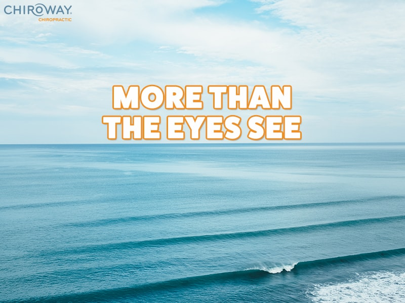 ChiroWay Chiropractic, More than the Eyes See, image of ocean and sky