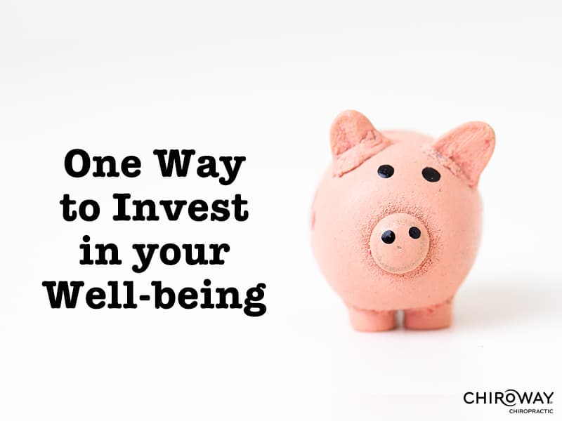 One Way to Invest in Your Well-being