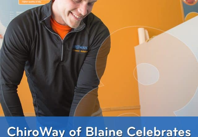 ChiroWay of Blaine Celebrates 8 Years in Business